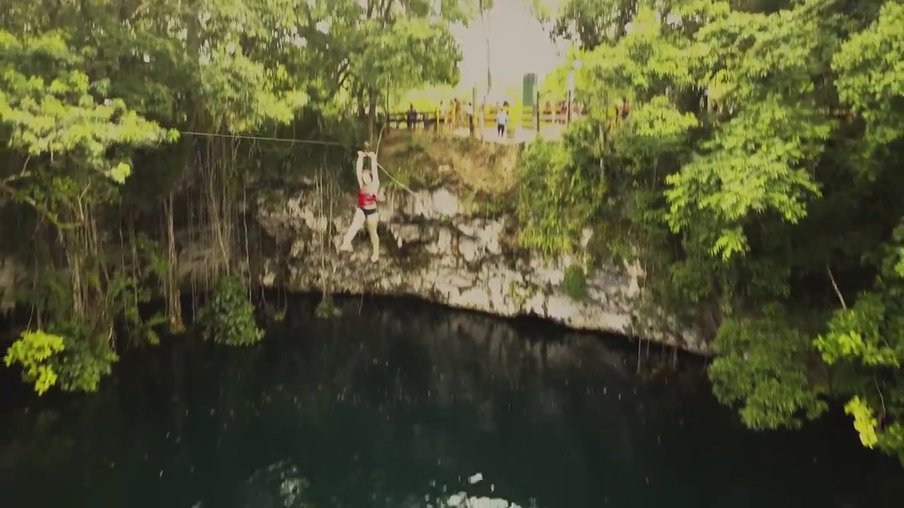 Funny Video: Girl Attempts To Ride a Zipline