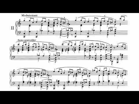 Erik Satie ~1897~ Pièces Froides, Airs à faire fuir, n°2