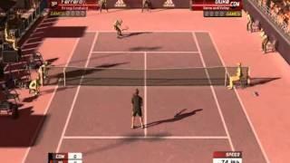 "Virtua Tennis 3,  ""New Serve"""