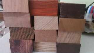 экзотическая древесина для рукояти НОЖА