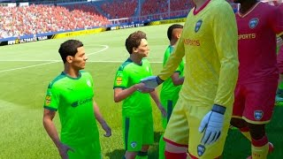 THE SMALLEST TEAM VS THE TALLEST TEAM ON FIFA!!!