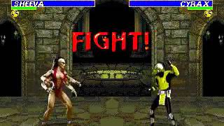 Mortal Kombat 3 - Sheeva (Sega Genesis) (By Sting)