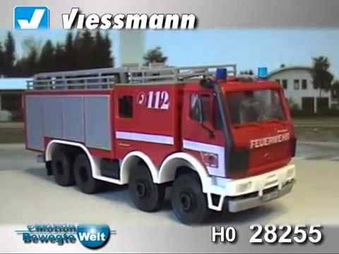 Model Train Accessories, Viessmann 28255 HO Fire Truck