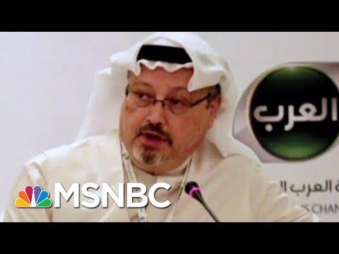 Will The Fate Of Jamal Khashoggi Damage U.S.-Saudi Relations? | Velshi & Ruhle | MSNBC