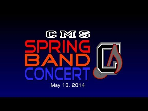 Chickahominy Middle School 2014 Spring Band Concert - Preview