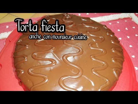 Torta fiesta fatta in casa con mounsieur cuisine, bimby o metodo tradizionale