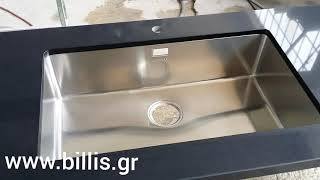Кухонная мойка Apell Linear Plus LNP77FBC-1. Обзор.