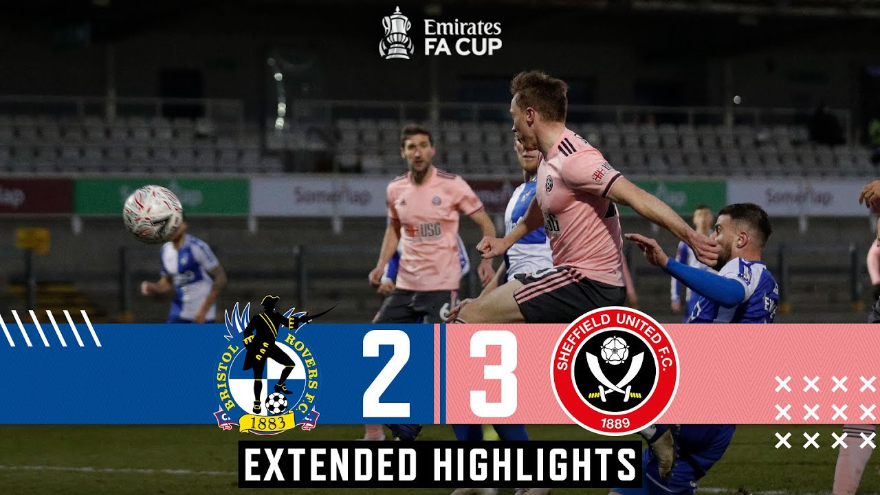 Bristol Rovers 2-3 Sheffield United | Extended FA Cup highlights