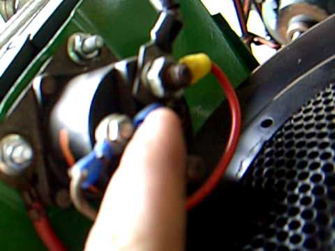 magnetschalter rasentraktor