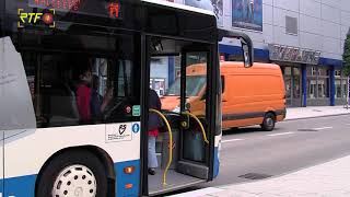 Barrierefreier Umbau von Bushaltestellen