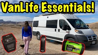 7 Things We Couldn't live Without In Our Van | Van Life Essentials