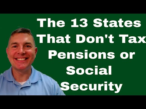 13 States Without Pension or Social Security Taxes - # 5 WILL Shock You