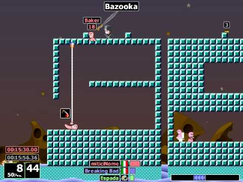 Worms Armageddon - Bazooka Glitch w/o Worm - YouTube