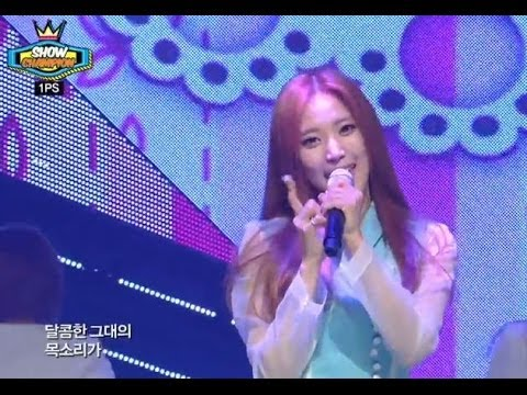 1PS - Because I'm a girl, 1PS - 여자이니까, Show Champion 20140312