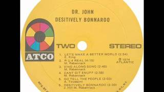 Dr John - Desitively Bonnaroo (1974) full album
