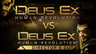 Deus Ex: Human Revolution Director's Cut vs The Original Version (PC Graphics Comparison) [HD]