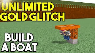 *NEW* UNLIMITED GOLD GLITCH! | Build A Boat For Treasure ROBLOX