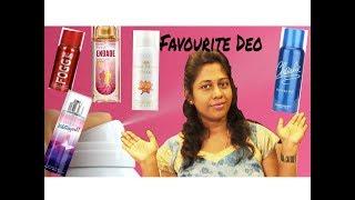 Top 5 deodrants under 300 Rupees for women|Favourite drugstore Deodrants|Best perfume