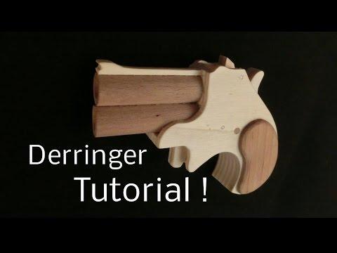 Tutorial! Derringer [rubber band gun]