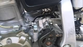 2005 Honda XR650R running
