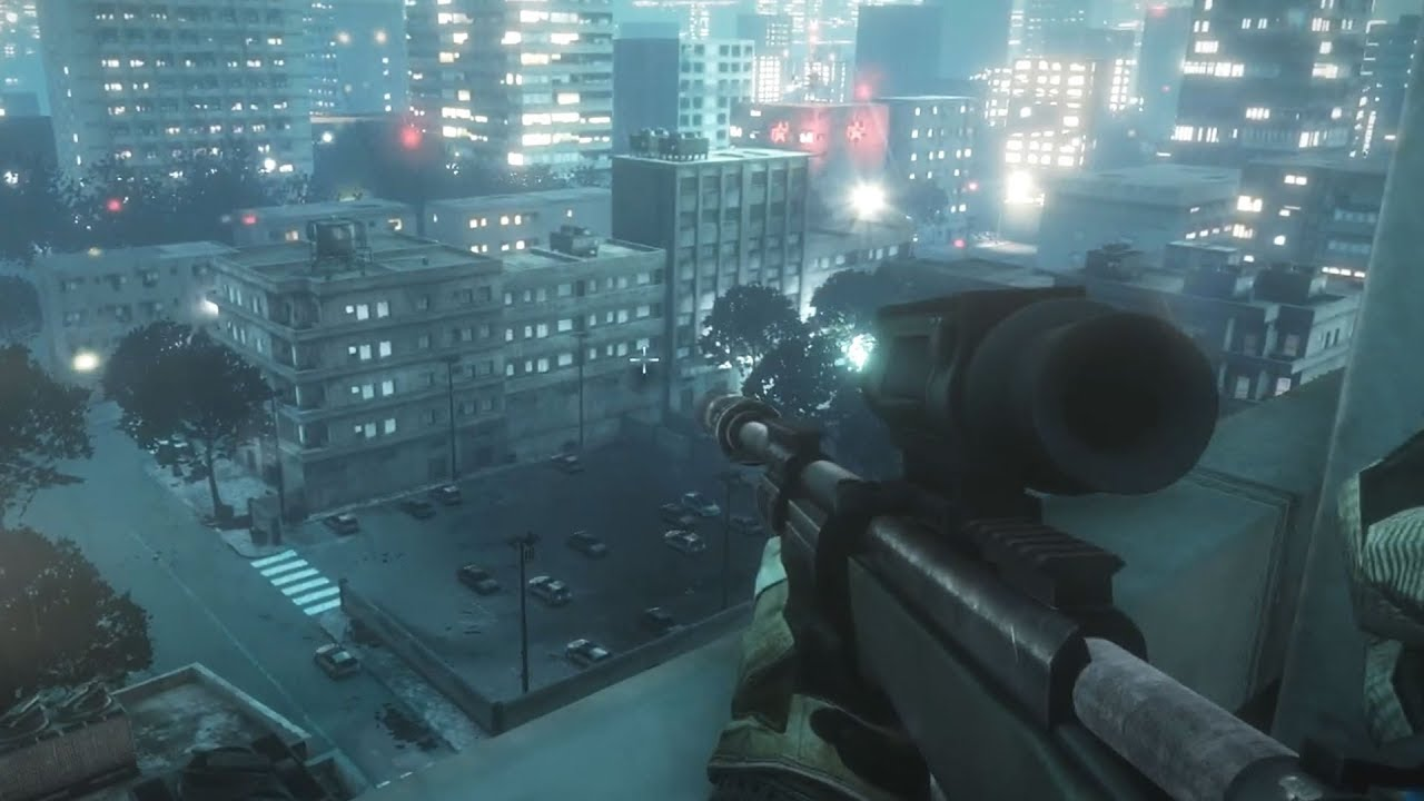 Battlefield 3 Sniper Mission Gameplay