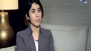 """نادية مراد الفتاة الإيزيدية تروى قصة هروبها من """"داعش"""""""