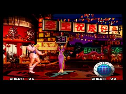 The King of Fighters 97 Shermie Desperation Moves - 동영상