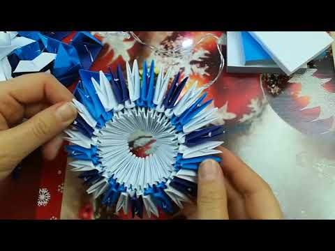 Шкатулка для секретов модульное оригами видео