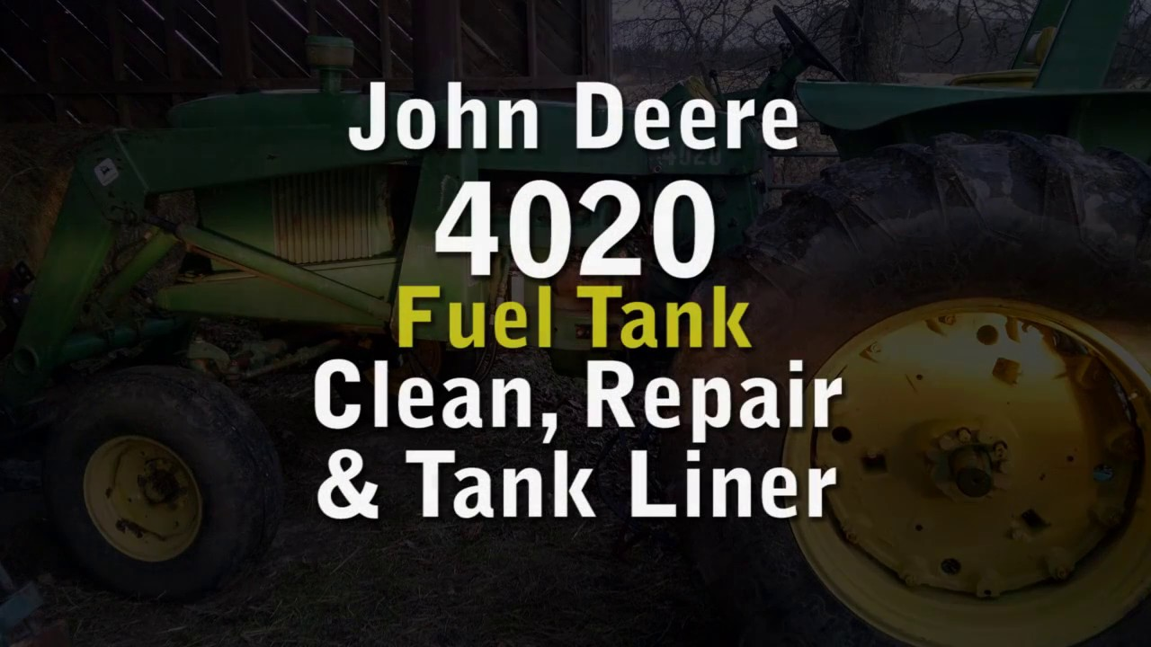small resolution of john deere 4020 fuel tank repair and tank liner install