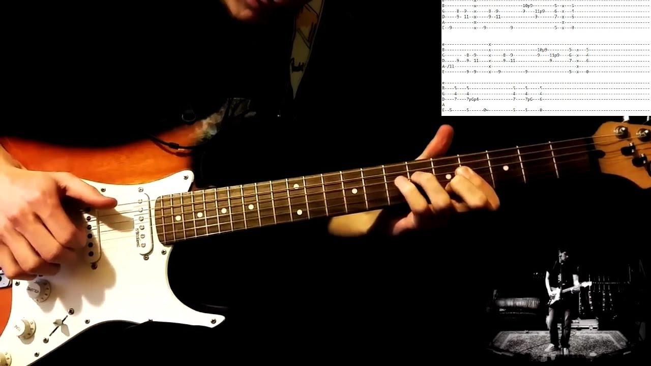John Mayer Slow Dancing In A Burning Room La Version Intro Tabs Youtube