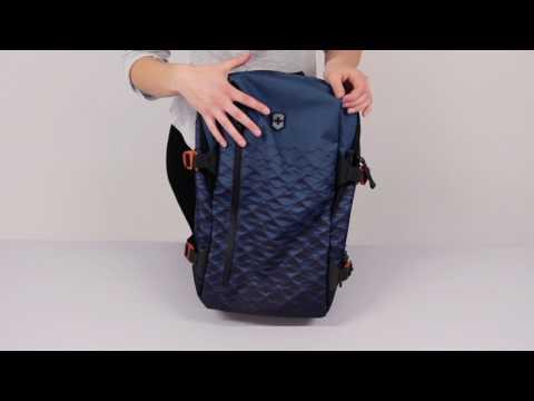 641a576fe7 LauraExplains - Victorinox Vx Touring Backpacks - YouTube