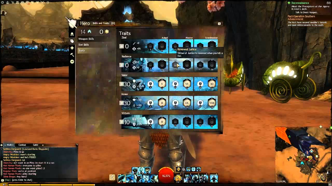 Guild Wars  Guardian Support Build
