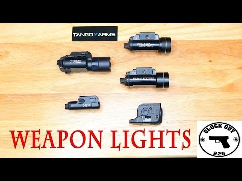 Which Weapon Light Is Best For You? Streamlight VS Surefire!