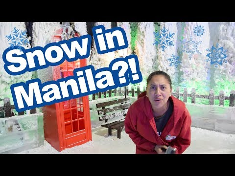 We Found Snow in Manila!