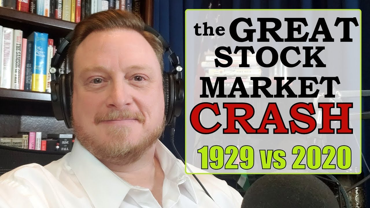 The 1929 vs 2020 Stock Market Crashes