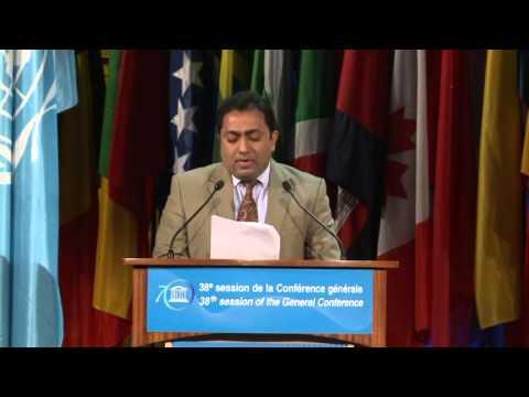 38th General Conference – 5 11 2015 General Policy Debate   Sri Lanka