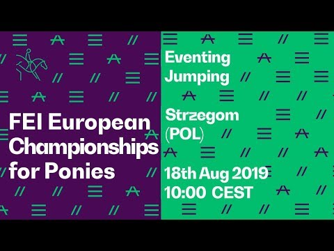 LIVE 🔴 |Eventing (Jumping) | FEI European Championships for Ponies 2019