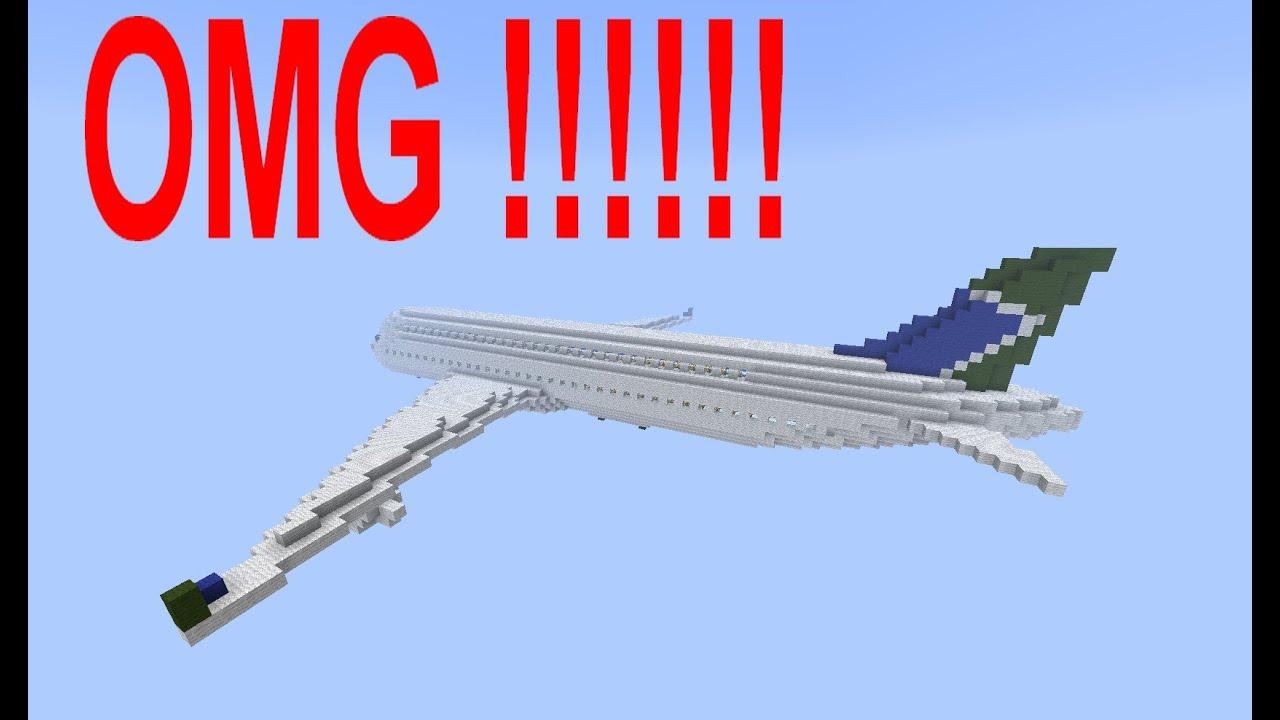 Construction de fou minecraft avion g ant youtube - Video minecraft construction de fou ...