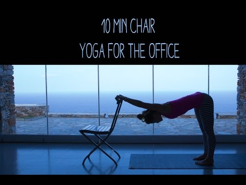 10 Min Chair Yoga for the Office