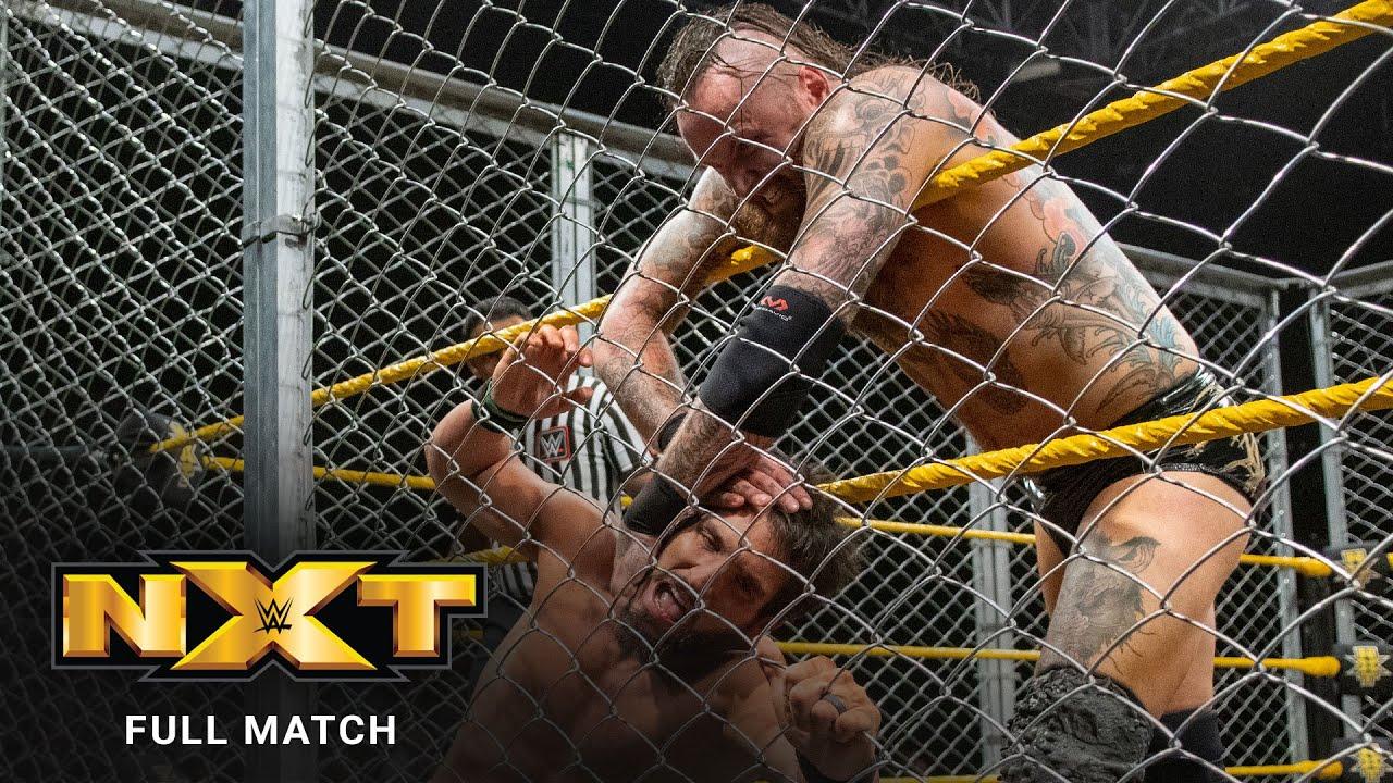 FULL MATCH - Aleister Black vs. Johnny Gargano - Steel Cage Match: NXT, December 19, 2018