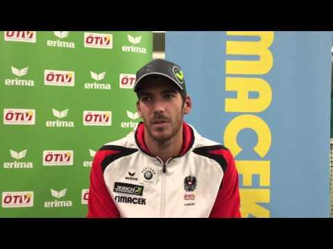 Davis Cup Portugal - Österreich: Interview mit Gerald Melzer