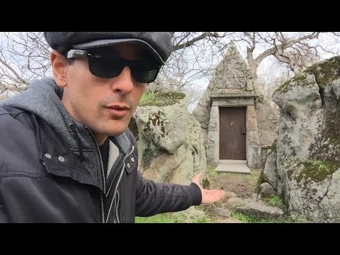 Creepy & Mysterious Pyramid Crypt near Sacramento