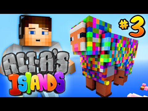 "Minecraft 1.9 - Ali-A's Islands #3 - ""RAINBOW DEATH!?"""