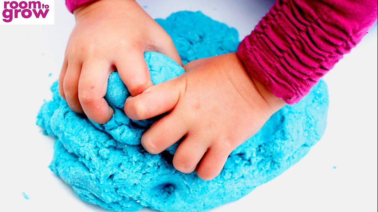 how to make no cook playdough without flour