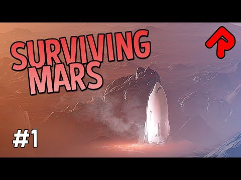 SURVIVING MARS: New Colony Builder is RimWorld with Drones! | Surviving Mars gameplay ep 1