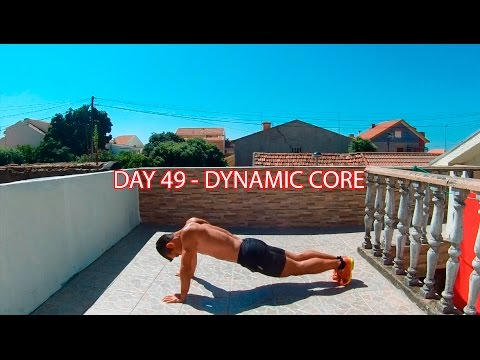 DAY 49 - 25 MIN FAT BURNER WORKOUT - DYNAMIC CORE