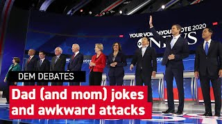 The most cringeworthy moments from the Democratic debate