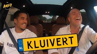 Justin Kluivert - Bij Andy in de auto! (English subtitles)