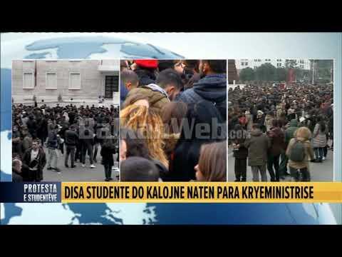 Dita e 9 e protestës së studentëve/ Pamjet nga lart me dron