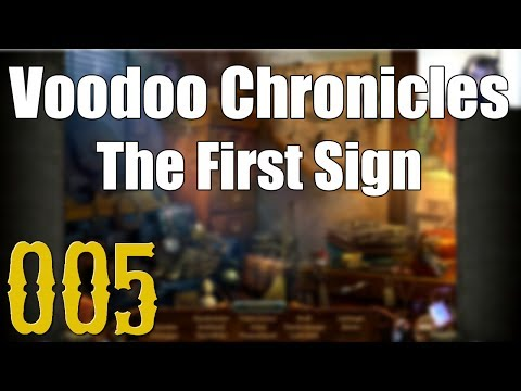 Let's play Voodoo Chronicles - First Sign [5] [HD] - ... aber der gute Whiskey! |